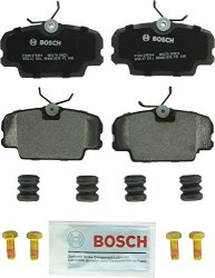 Bosch BP278 Quietcast Premium Semi-metallic Disc Brake Pad Set For Select Bmw 325 318I 325E 325I 325IS 325IX Mercedes-benz 190D 190E Peugeot 405 Saab 900 9000 Front