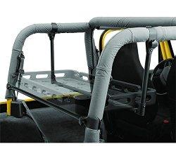 Bestop 4140601 Black Lower Cargo Rack Bracket System For 92-02 Wrangler
