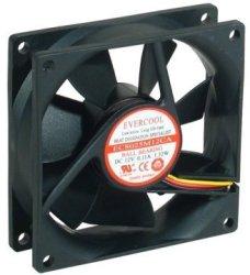 Evercool EC8025M12CA Ball Bearing 12V Dc Cooling Fan