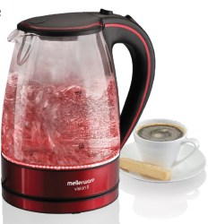 Mellerware - Vision Ii Glass Kettle - 360 Cordless - Concealed Element