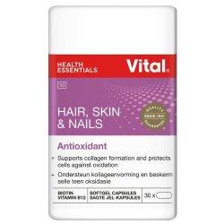 Vital Hair Skin & Nails Supplement 30 Capsules