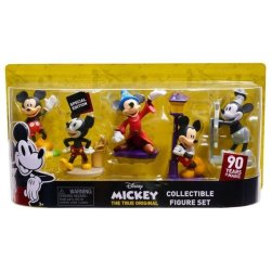 Mickey Mouse 90TH 5PK Collector Figure Set