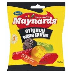 Maynards Sweets Packet Wine Gums 125 G