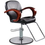 Shengyu Hydraulic Styling Barber Chair Hair Beauty Salon Equipment Black