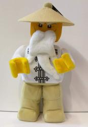 Lego Ninjago Movie Minifigure Plush - Sensei Wu 853765 13 Inches