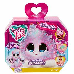 Clickdistribution UK WA635CAN Scruff-a-luvs Friends Series 2 Candy Floss Collectible Figure Multicoloured