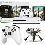 Microsoft Xbox One S Bundle 1 Tb Console With Tom Clancy's The Division 2 234-00872 + Xbox One Official Quantum Break Controller