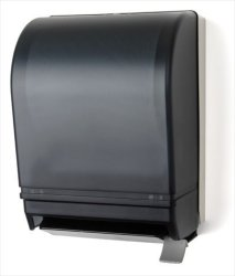E-z Taping System TD0210-01 Roll Towel Dispenser With Lever In Dark Translucent