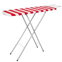 RETRACTALINE The Laundry House - Deluxe Ironing Board With Wire Iron Rest