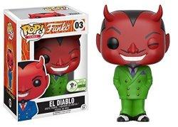 Funko Pop Eccc 2017 El Diablo Green Suit Emerald City Comic Con