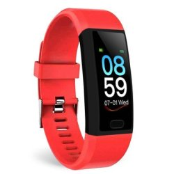 Bakeey T12 1.14 Fitness Tracker Record Blood Pressure O2 Sms Reminder Weather Forecast
