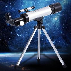 Telescopes Portable Durable Easy Assembly 144 1000 M Multi-coated BAK4 - Silver