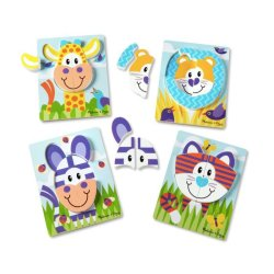 First Play Jigsaw Puzzle Set Safari
