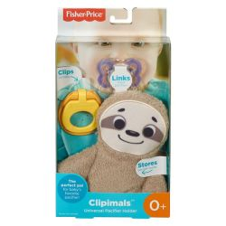 Fisher-Price Clipimals Universal Pacifier Holder - Sloth