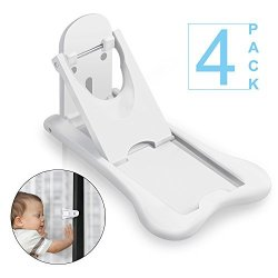 4-Pack-Childproof Your Windows and Sliding Doors With Our Window and Door Bab...