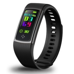 Bakeey S9 0.96INCH Ips Heart Rate Blood Pressure Monitor Pedometer Bluetooth Smart