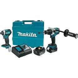 Makita XT268T 18V Lxt Lithium-ion Brushless Cordless 2-PC. Combo Kit 5.0AH