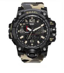 SMAEL 1545 Multifunctional Sport Watch - Camo Khaki