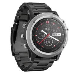 Killerdeals Stainless Steel Strap For Garmin Fenix 3 - Black