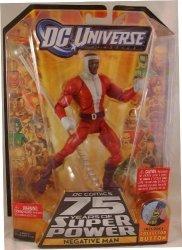 """Dc Universe Classics 6"""" Negative Man Variant Action Figure Wave 13 Trigon Series By Dc Comics"""