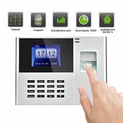 2.8 Inch Tft Lcd Screen Time Attendance Clock 100-240V Tcp Ip Employee Attendance Recording Machine Employee Fingerprint Attendance Machine Us
