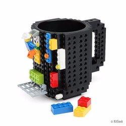 Building Brick Mug - Black