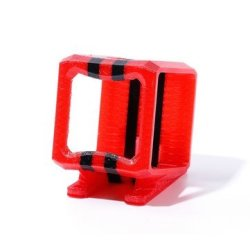 Hero Asiawill Bike Mounted Fixed Clamp Holder for HD GoPro Hero 3// Hero 2 Red