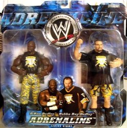 """Jakks Pacific Wwe Adrenaline Series 8 """"d-von Dudley And Bbubba Ray Dudley"""