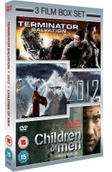 2012 terminator Salvation children Of Men dvd