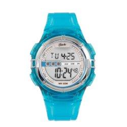Gotcha - Ladies 50M Wr Turquoise Jelly Digital Watch