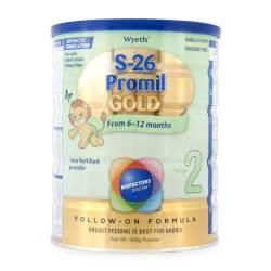 S-26 Promil Gold Stage 2 Follow-On Formula Vanilla 900g