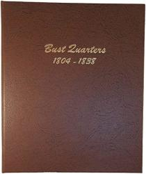 USA Dansco Us Bust Quarter Coin Album 1804-1838 6141