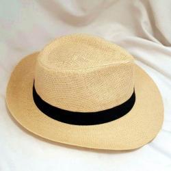 Panama Hat Holiday - Black