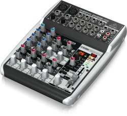 Behringer QX1002USB Xenyx Premium 10 Channel USB Mixer With Xenyx MIC Preamps And Compressors