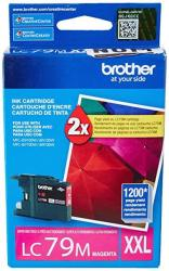 Brother Printer LC79M Super High Yield XXL Magenta Cartridge Ink - Retail Packaging