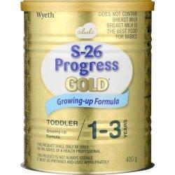 Wyeth 400g S-26 Progress Gold Stage 3 Growing-Up Formula | R | Baby Food |  PriceCheck SA