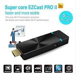 Ezcast Pro II Dongle 5G Wifi Wireless Presentation Streaming Airplay Miracast 4K Stick High Speed Mimo 2T2R Wifi HDMI Supports 4