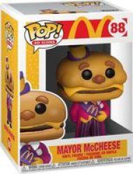 Pop Ad Icons: Mcdonalds - Mayor Mccheese Vinyl Figure