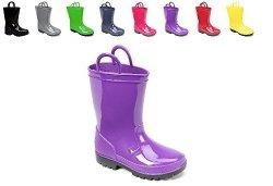 Ska Doo Dark Purple Kids Rain Boots 5 M Us Toddler