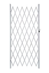 Armourdoor Alu Flex Security Gate 840MM X 2M - White