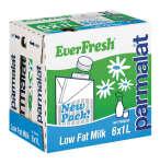 Everfresh Uht Milk 2% Low Fat 6 X 1l