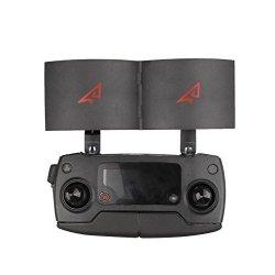Nesee For Dji Mavic Pro Remote Control Signal Extender Amplifier Antenna Range Booster Black