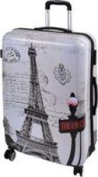 MARCO Fashion Luggage Bag Paris - 20 Inch