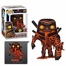 Funko Pop Marvel: Spider-man Far From Home - Molten Man Glow Exclusive