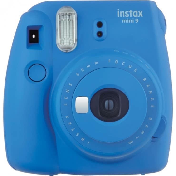 Fujifilm Instax Mini 9 Instant Film Camera in Cobalt Blue