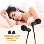 Mijiaer In-ear Earbuds For Sleeping Noise Isolating Headphones Sleep Earbuds With Soft Earplugs For Asmr Insomnia Side Sleeper S