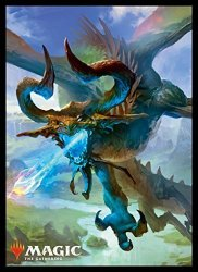 """Magic: The Gathering Player's Card Sleeve Basic Set 2019"""" Nicol Bolas The Ravager Pack"""