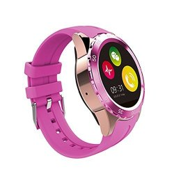 AWOW Smartwatches Bluetooth Heart Rate Smart Watch Cell Phone For Kids With Camera Call Text Notifie