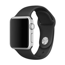 Killerdeals Silicone Strap For 38MM Apple Watch S m - Black