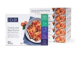 HMR Cheese And Basil Ravioli With Tomato Sauce Entree 8 Oz. Servings 6 Count